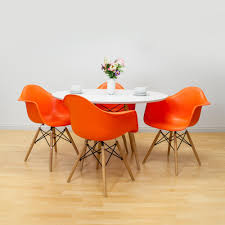 Mod Made Paris Tower Orange Dining Arm Chair With Wood Legs (Set Of ... Unique Zeppelin Modern Orange Ding Chair All World Fniture Room Chairs Thrghout Ppare Dennisbiltcom These Will Convince You To Go Midcentury Mariette Set Of 2 Intercon Classic Oak 7piece Solid Pedestal Miniature Hutch Table Two Antique Etsy Kenneth Fabric Hot Orange Ding Room Set Schuhekeflyknitlunar3top Cattail Bungalow 96 Warm Amber Extendable Trestle With Chairs Design Ideas
