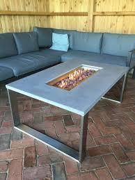 gartentisch gartenmöbel feuertisch betontisch terrassentisch