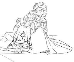 Personnages De Walt Disney Fond Decran Titled Coloring Pages Princess Anna