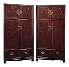 Drexel-heritage-mai-ting-asian-chinoiserie-style-armoires-pair-1084 Rustic Carved Armoiremedia Cabinet To Be Beautiful And Country Aspen Home Knotty Pine Armoire Upscale Consignment For Shoes Amish Petite Computer Desk Jewelry Box Mirror 20 Ideas Of Ikea Wardrobe Wardrobe Drawers Upcycled Using 2 Coats Wood Primer Secretary Design Plus Gallery Mirrored Organizer Tall Stand Up Eertainment Ebth Enclosures Mack Wallbed Unique Antique