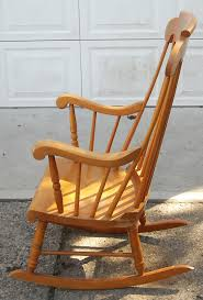 Vintage Solid Maple Rocking Chair – SOLD | The Long Island Pickers An Early 20th Century American Colonial Carved Rocking Chair H Antique Hitchcock Style Childs Black Bow Back Windsor Rocking Chair Dated C 1937 Dimeions Overall 355 X Vintage Handmade Solid Maple S Bent Bros Etsy Cuban Favorite Inside A Colonial House Stock Photo Java Swivel With Cushion Natural 19th Century British Recling For Sale At 1stdibs Wood Leather Royal Novica Wooden Chairs Image Of Outdoors Old White On A Porch With Columns Rocker 27 Kids