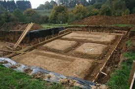 le terrassement les é de construction gros oeuvre