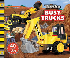 100 Tonka Truck Games TONKA Busy S A LifttheFlap Book TONKA 9780794430313