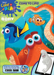 Disney Finding Dory Jumbo Coloring Activity Book Title 2