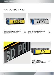 License Plate Holder Click For Car And Truck, Square, Standard ...