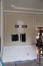 Esthetically Pleasing For That Wall We Settled On 4 Spacing Between All The Moulding And Only Veered From In A Few Areas Mainly Door Frames