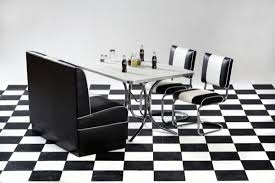 Image Of The Smart Furniture Diner Booth Table Bench With Chairs