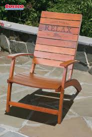 The Tommy Bahama Folding Adirondack Chair Offers Casual ...