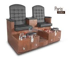 Gulfstream Plastics Pedicure Chairs by Paris Double Pedicure Bench Custom Pedicure Chair Bench