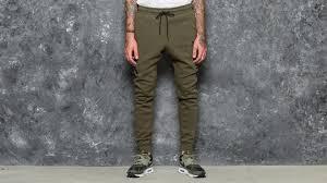 nike sportswear tech fleece jogger olive footshop