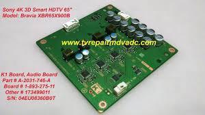 sony kdl 40xbr4 t con board lj94 01955g tested