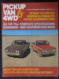 Pickup Van & 4WD Magazine January 1975 Mini Truck Matchup | EBay 1967 Mini Morris Truck What The Super Street Magazine Stock When I Purchased My Minitruck My Minitruck Pinterest Socal Council Show From Truckin Magazine Southern California Show 2018 1987 Subaru Sambar 4x4 Kei Japanese Pick Up Scene On Twitter Minitruckscene Lowrider Dancing Bed Nissan Youtube Ssan_minitrucks_jp Nissan Mitrukin Hardbody Alisa Need For Speed Becerra 3 Vehicle Ax Mahew Original 1980 Datsun 720 Pickup Mini Truck Madness