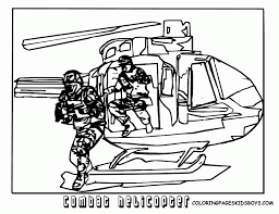 Helicopter Coloring Fire Station Pages For Kids 140487