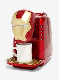 Marvel Iron Man Single Cup Coffee Maker Hi Res