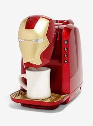 Marvel Iron Man Single Cup Coffee Maker Hi Res