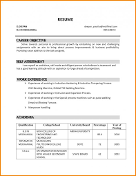Profession Goal Examples For Resume Career Objective