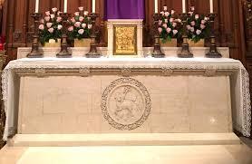 three noble altars liturgical arts journal