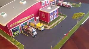 100 Code 3 Fire Trucks Station 164 Scale With Code Fire Trucks Part1 YouTube