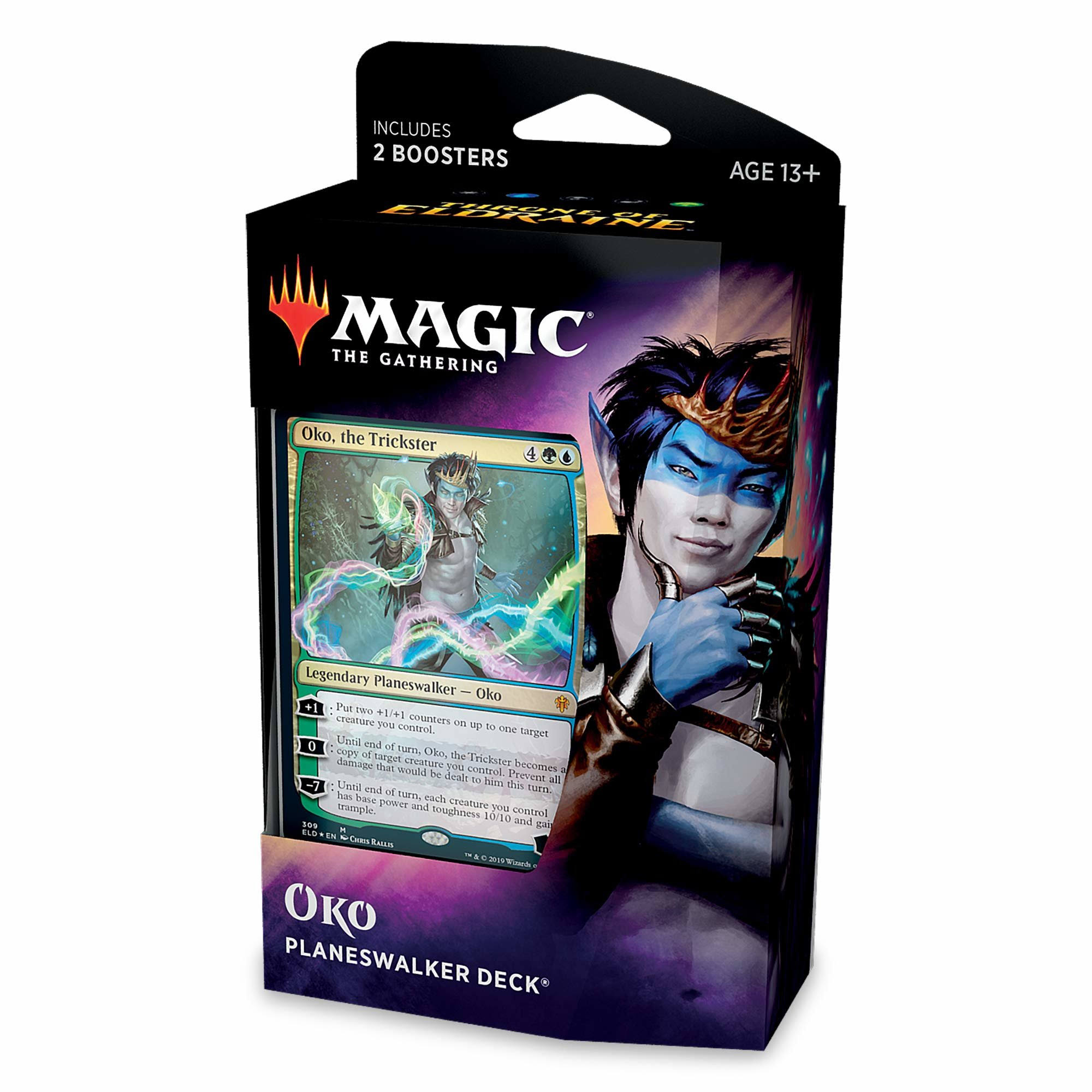 Magic The Gathering Throne of Eldraine Oko Planeswalker Deck C73740000