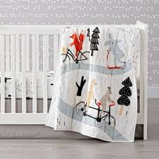Woodland Creatures Nursery Bedding by Forest Crib Bedding Daily Duino