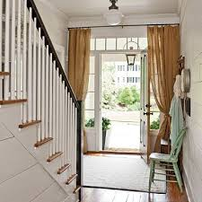 Front Door Side Window Curtain Panels by Best 25 Sidelight Curtains Ideas On Pinterest Door Window