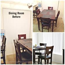 dining room makeover a to zebra celebrations