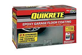 Valspar Garage Floor Coating Kit Instructions by Amazon Com Quikrete 02 50020 Light Gray Garage Floor Epoxy Kit