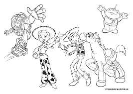 Nos Jeux De Coloriage Toy Story à Imprimer Gratuit Page 3 Of 10