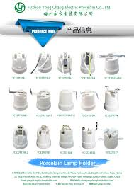 manufacturer type e40 porcelain light bulb socket