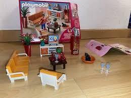 playmobil wohnzimmer mit kamin 5332 ovp mit anleitung