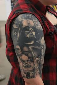 9 Darth Vader And His Stormtroopers The Greatest Star Wars Tattoos