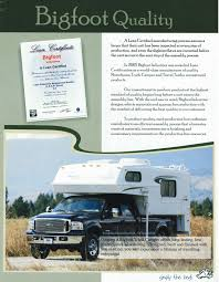 2007 Bigfoot Truck Campers Brochure | RV Literature One Guys Slidein Truck Camper Project Campers Bed Adventurer Eagle Cap Palomino Rv Manufacturer Of Quality Rvs Since 1968 With Slide Outs Luxury Model 1200 Pop Up Manufacturerspop Canada Cirrus 800 Wpaul The Air Force Guy Youtube Kamper City What Rv Akron Canton Cleveland 2014 Lance Manufacturing 850 Blade Center Mostly Complete List Off Road Trailer Manufacturers Toyota Truck Campers Business Soft Side In Best Resource
