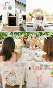 2015 Trending SPA Themed Bridal Shower Ideas