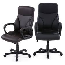 IKayaa US Stock Dxracer PU Leather Adjustable Swivel Office Executive Chair  Stool High Back Computer Chair Task Office Furniture-in Office Chairs From  ... Ofm Ess6030brn Ergonomic Highback Leather Executive Office Chair With Arms Brown Architectures Fniture Details About Home Amazoncom Ticova High Back Hon Highback Vinyl Seat Desk Off Chairs Beautiful Best Office Chairs For 20 Herman Miller Secretlab Laz Vinsetto Faux Wooden Tufted Mulfunction Swivel By Flash Online Singapore Bt444midwhgg Mid Traditional Guplushighback