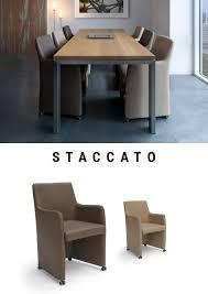 staccato esszimmerstuhl auf rädern 39 s neue welt