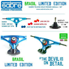 100 Sabre Trucks Truck Cold Forged Precision Living Longboards Produtos