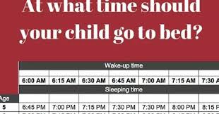 Unrealistic Bedtime Rules d By Elementary School Go Viral