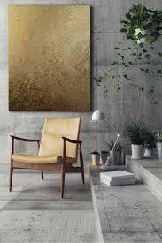 hochwertiges akustikbild gold ii im sanften metallic look