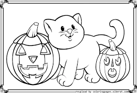 Picture Coloring Disney Halloween Pages Pdf On Page Free