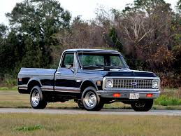 100 1971 Chevrolet Truck C10 Stepside Pickup Cars Classic Wallpaper