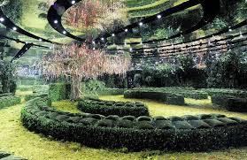 bureau 1m bureau betak conjures an enchanted garden for s