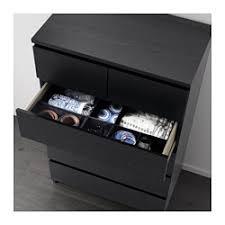 ikea malm commode 6 tiroirs malm commode 6 tiroirs noir brun 80x123 cm ikea
