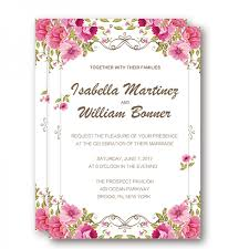 Cheap Fabulous Floral Rustic Wedding Invitation WIP032