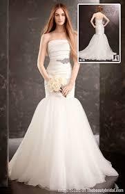 Wedding Dresses Mermaid Fresh Strapless Mermaid Wedding Dress White