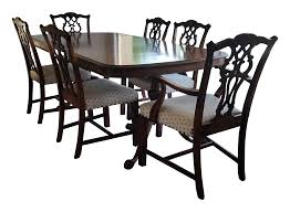 Antique Bernhardt Dining Set | Chairish 68 Off Bernhardt Gray Deco Ding Chairs Fniture Table And Eight For Sale At 1stdibs Santa Bbara Vintage Room Modern Antique Set Chairish Bernhardt Fniture Chippendale Style Side Chair 2385556 90 With Extension Leaf Best With 2 Leaves And 8 For Sale In Sutton House Items Decorage 7 Piece Rectangular Patina Dresser Tobacco Finish North