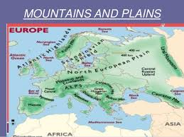 mountain ranges of europe geography of europe