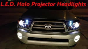 🚘 🛠 DIY Tacoma (2010-05) L.E.D. Halo Projector Headlights Amazon ... Devils Eye Projection Hid Headlight Revo Cycle Bmw 318 Ci Angel Eyes Halo Lights M Sports Alloys Leather Sony Mp3 Halo Lights Installed Mustang Oracle Lighting Color Fog Lights Lumen Harley Davidson Flstf Fat Boy 1997 7 Round Orange 7004053 Factory Style With Red Plasma On A Gmc Truck Youtube Custom Led For Cars From Oracle 2641032 Ccfl Blue Kit Headlights Multi Color And Strip Lighting 2012 Jeep Wrangler Redline Lumtronix Hh030led Wrangler Jk Headlight With