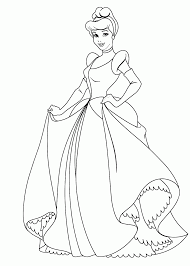 Related Cinderella Coloring Pages Item 10656