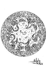 Coloring Page Adults Mandala Valentin 1 Free To Print