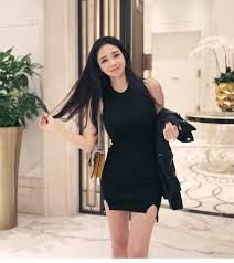 online get cheap ribbed sweater dress aliexpress com alibaba group